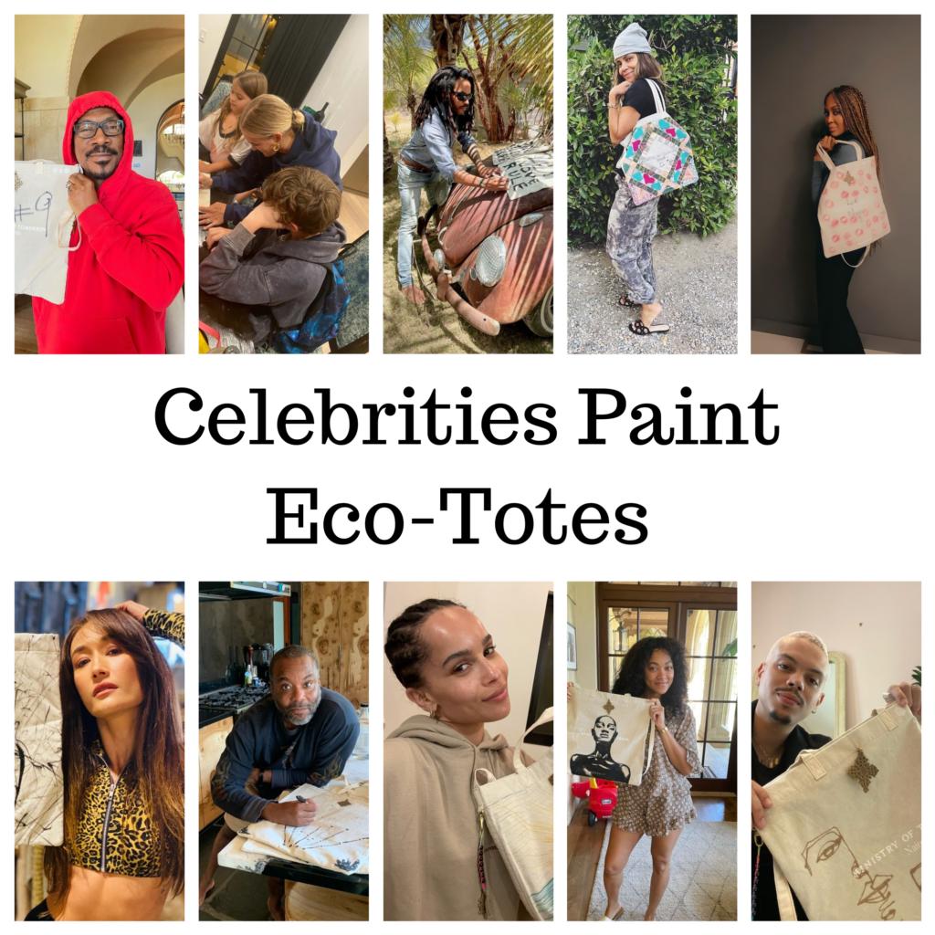 Celebrities Paint Eco-Totes
