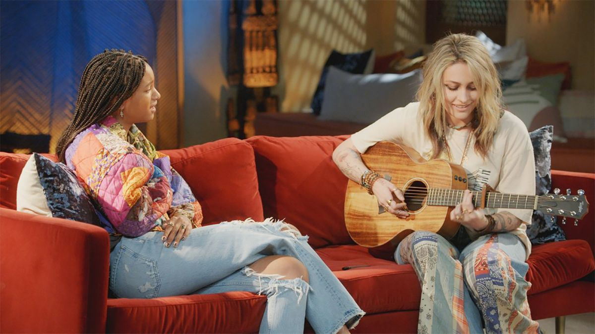"""Paris Jackson to Willow Smith on Red Table Talk Takeover """"I Feel Like My Dad Would be Proud"""""""