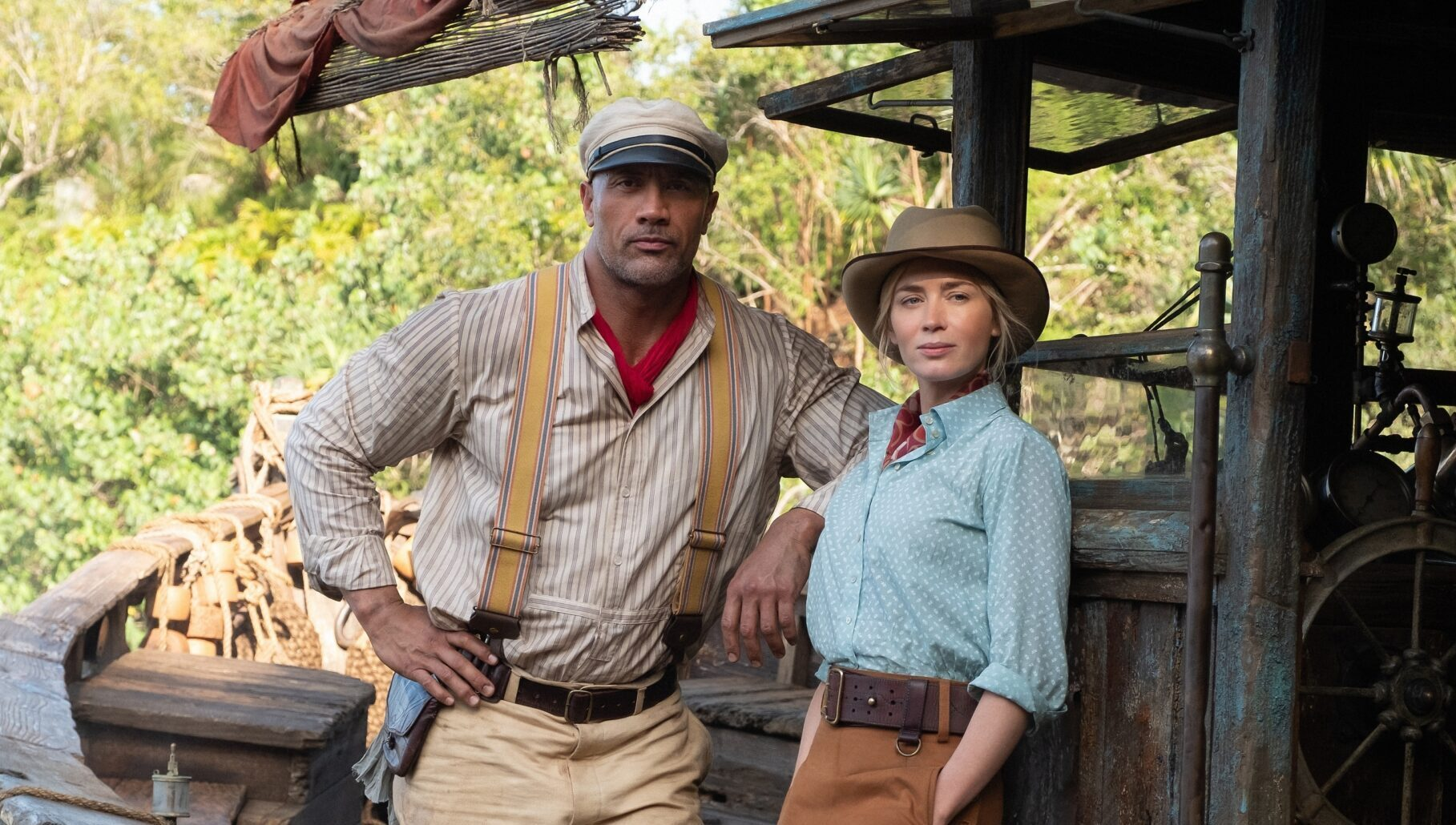 The Rock and Emily Blunt Make a Dynamic Duo in 'Jungle Cruise'