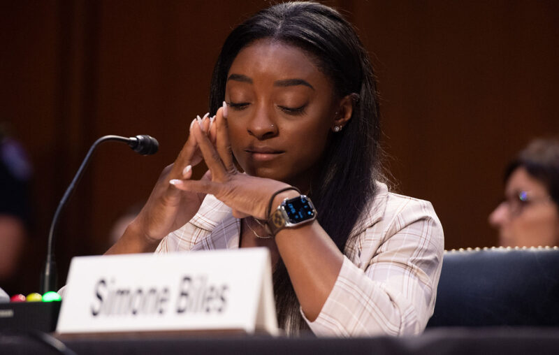 Simone Biles Shares Gut-Wrenching Testimony