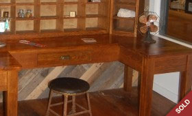 Antique Postal Desk