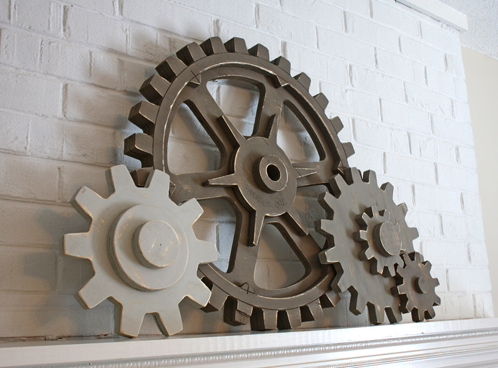 Wooden Foundry Pattern Gear Set