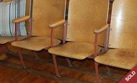 Vintage Stadium Seats