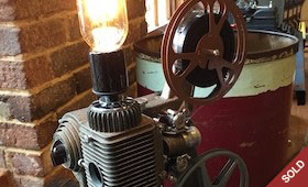 Repurposed Projector Light