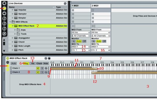 Ableton Live as Master Keyboard Rig Software