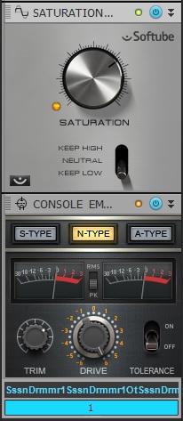 This processing creates bigger, more powerful kick drums.