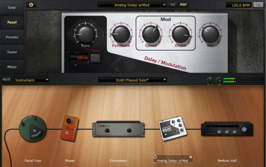 Guitar Amps: Combining Virtual and Physical