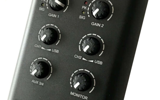 CEntrance MixerFace R4R Mobile Mixer/Interface/SD Recorder