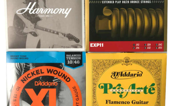 How to Choose Guitar Strings: Tone and Action