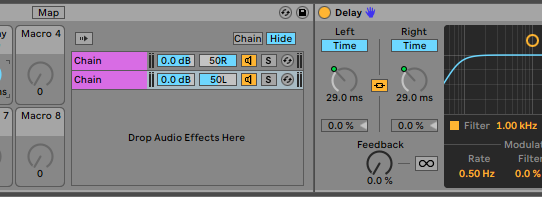 Ableton Live Mono-to-Stereo Converter that Collapses Well to Mono (Really!)