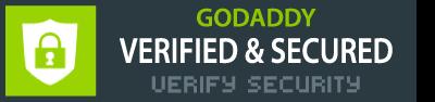 GODADDY VERIFIED & SECURED