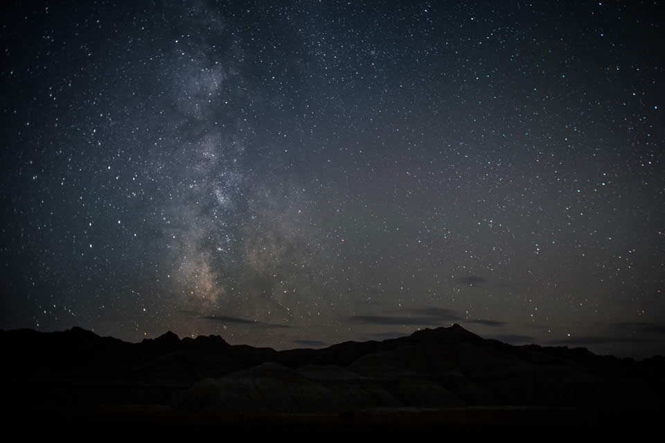 Milky Way over Toadstool Park next to Our Heritage Guest Ranch