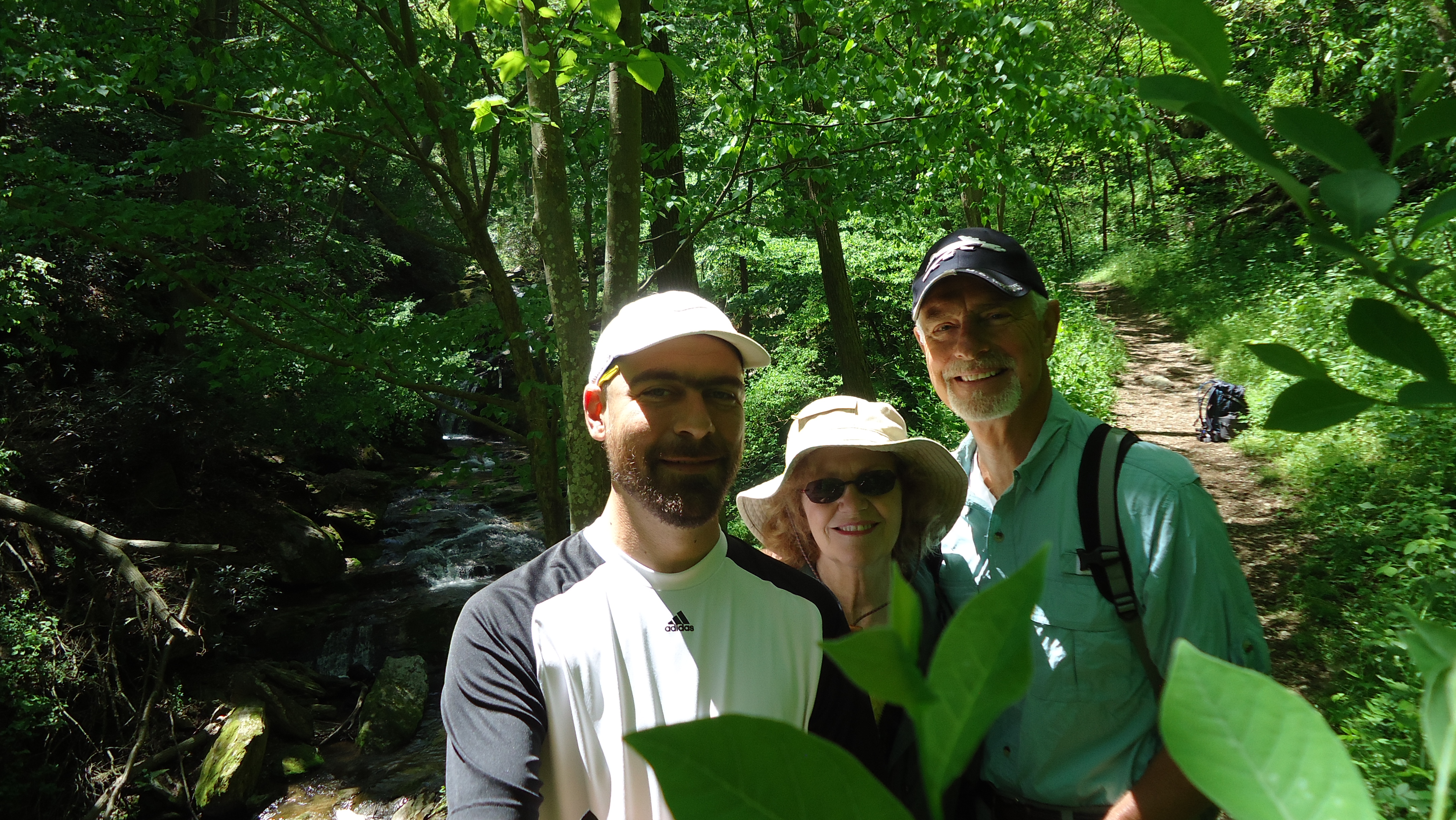 Mother's Day near Holtwood Dam