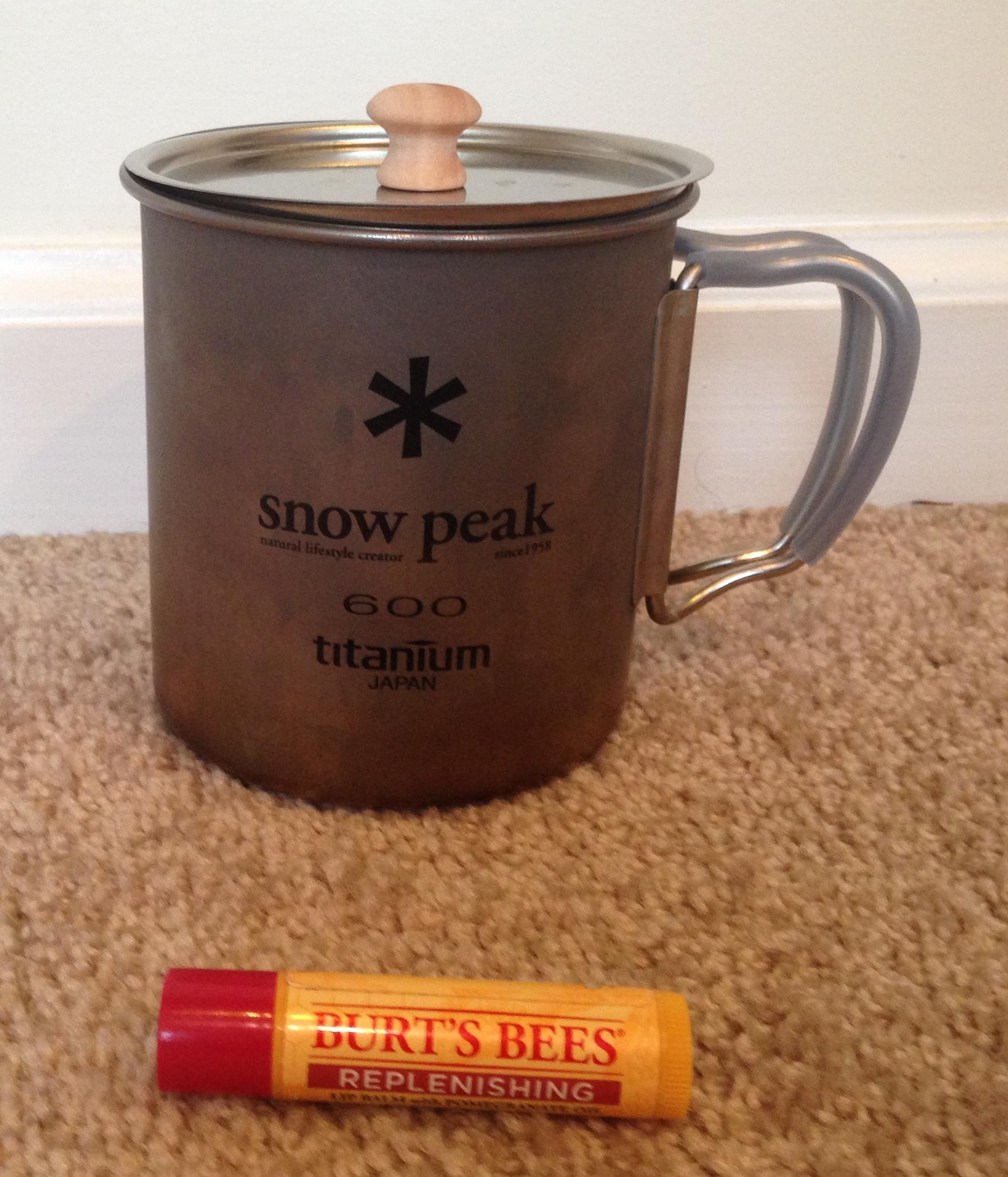 Snow Peak with lid