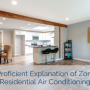 A Proficient Explanation of Zoned Residential Air Conditioning