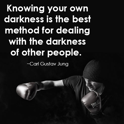 carl jung quotes on darkness