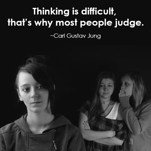 carl jung quotes on judging