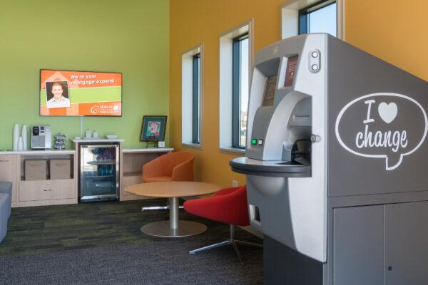 ATM Machine And Hospitality area