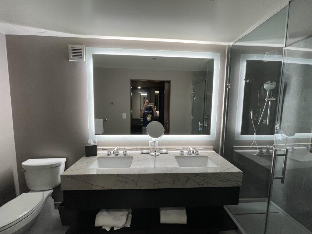 Grand Hyatt Nashville Suite Bathroom Vanity