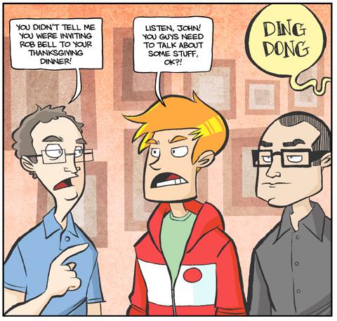 Theology Nerd Alert: The Most Awkward Thanksgiving