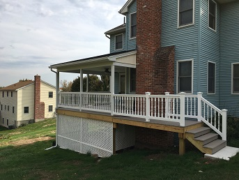 Feeding Hills Covered Porch