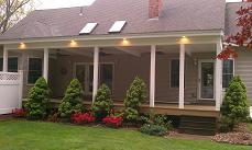 deck to porch