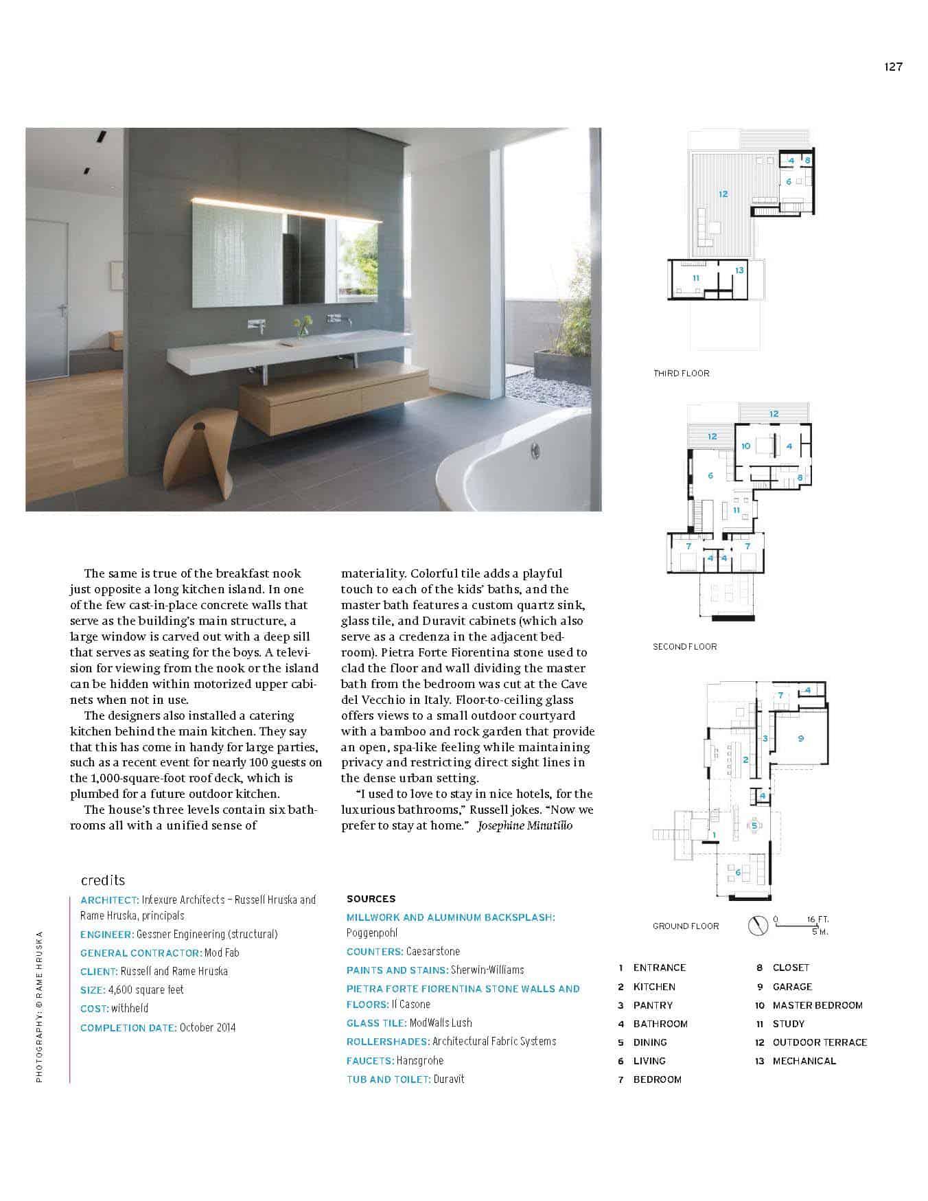 Architectural Record Magazine Intexure Bath