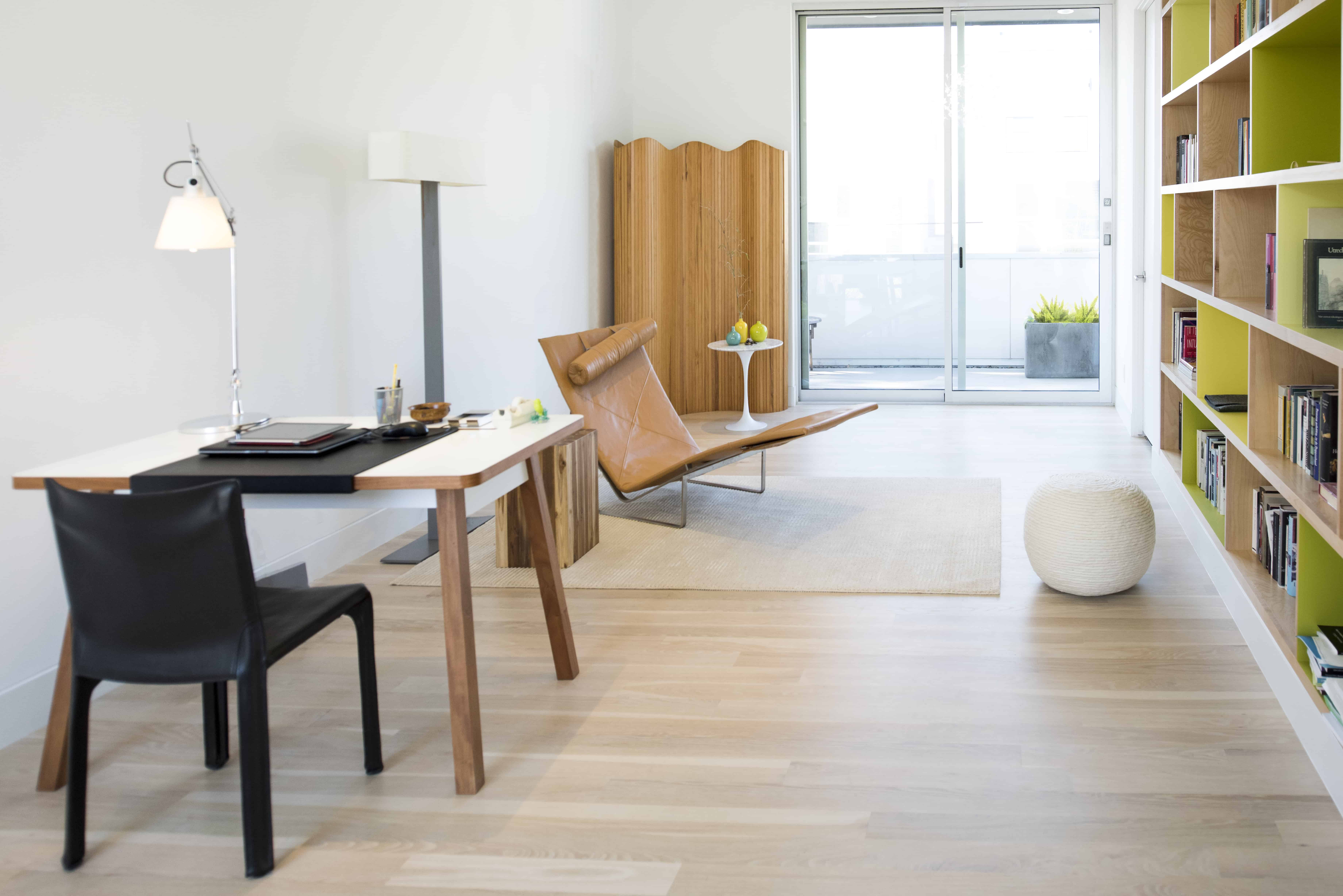 modern home guest and office space