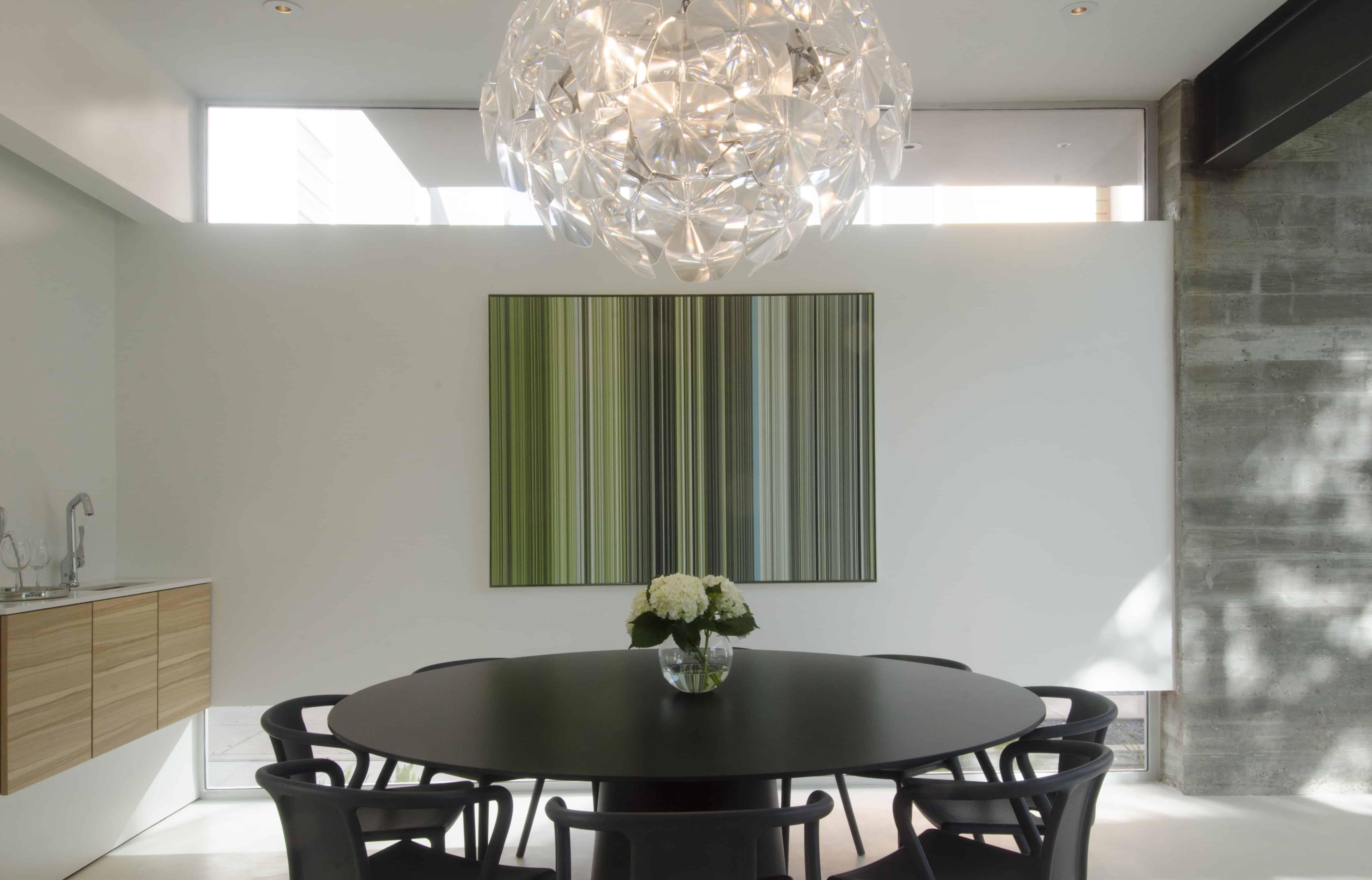 modern home dining room hope pendant