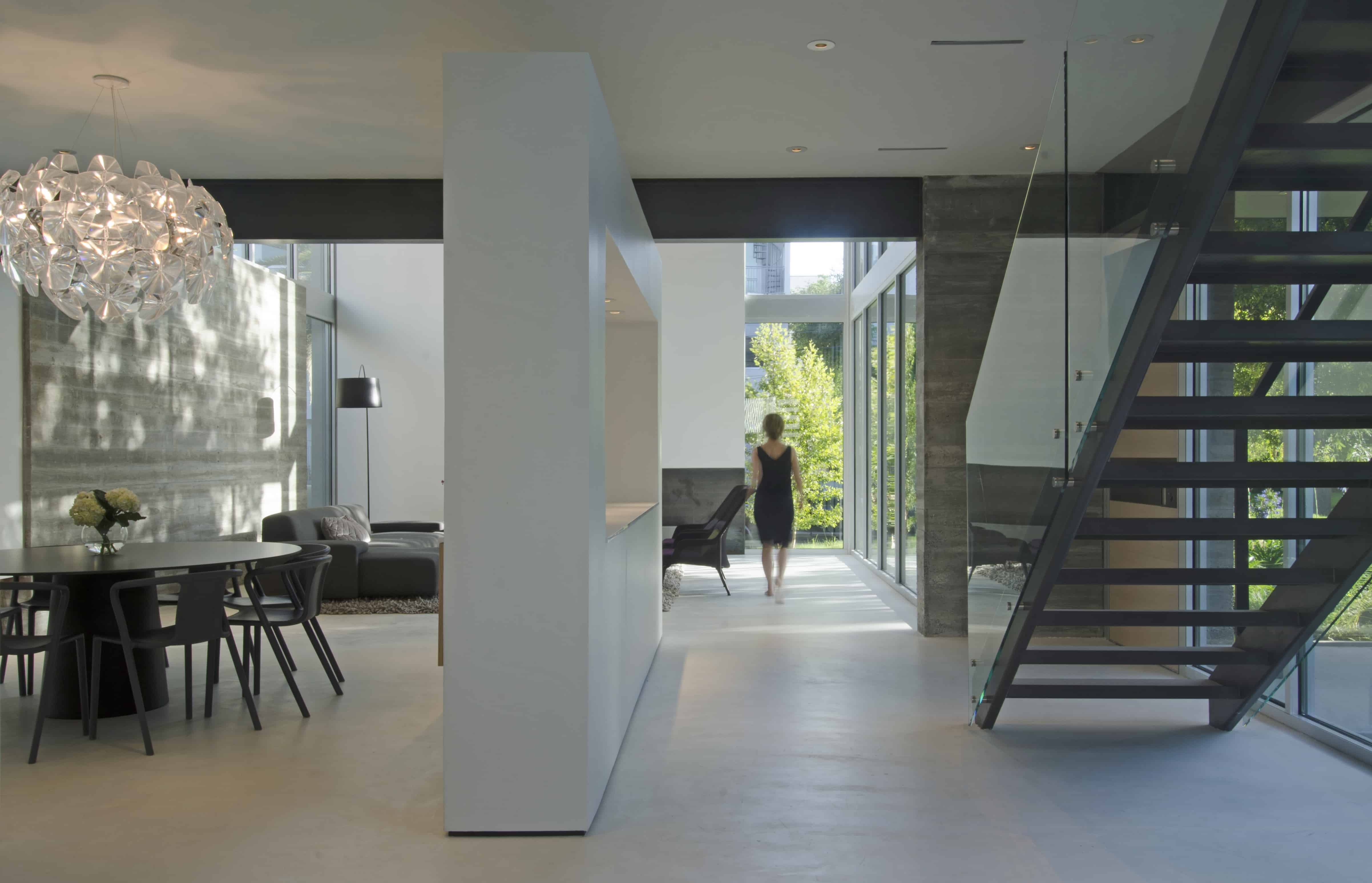 Modern Residential Home Concrete and Glass