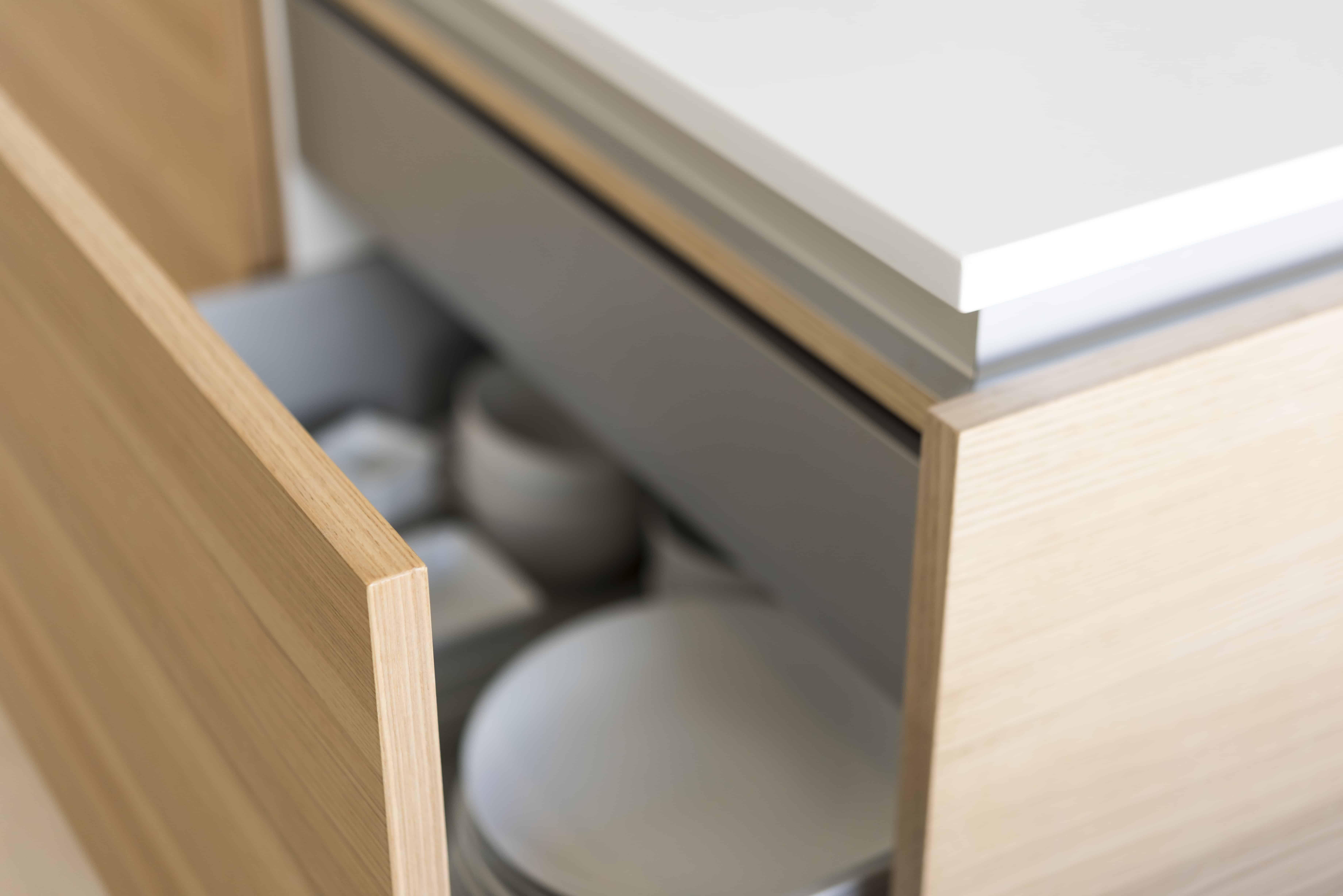 internal drawer detail
