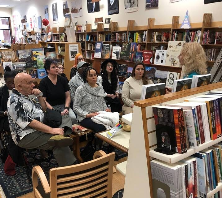 Book Signing at Tall Tales Bookstore for Atlantis Writhing