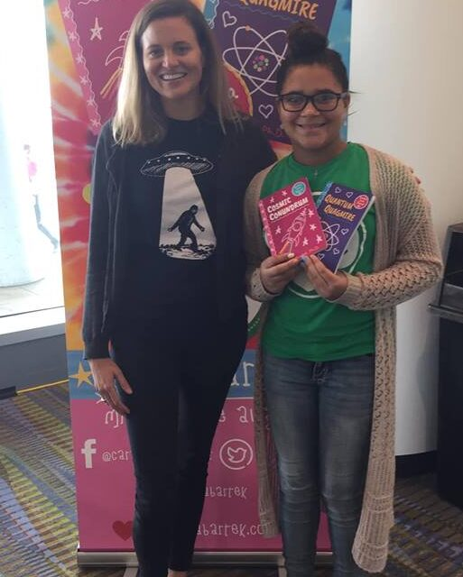 Author Cara Bartek at Teen Bookfest by the Bay