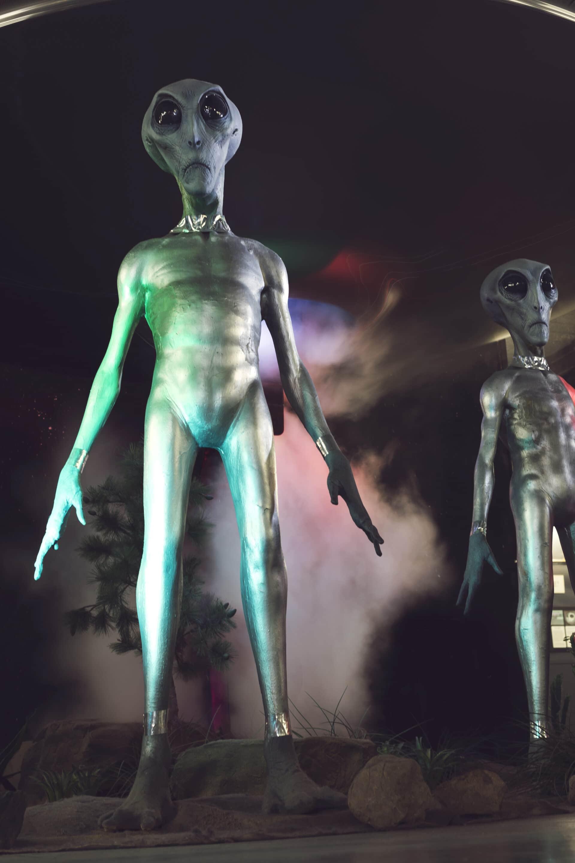 UFO Museum alien exhibit