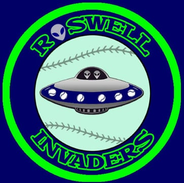 Roswell Invaders logo