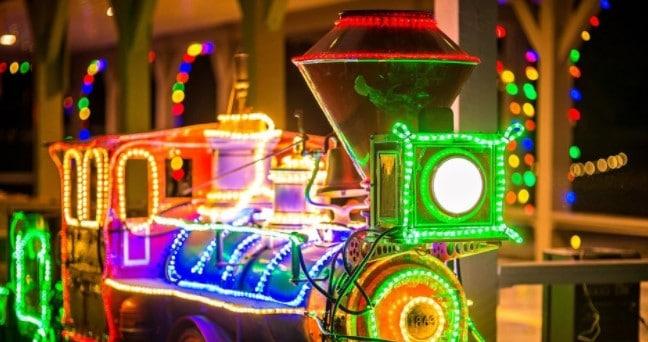 Lighted Train