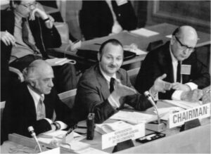 Chairman Maurice Strong at 1992 Rio Earth Summit