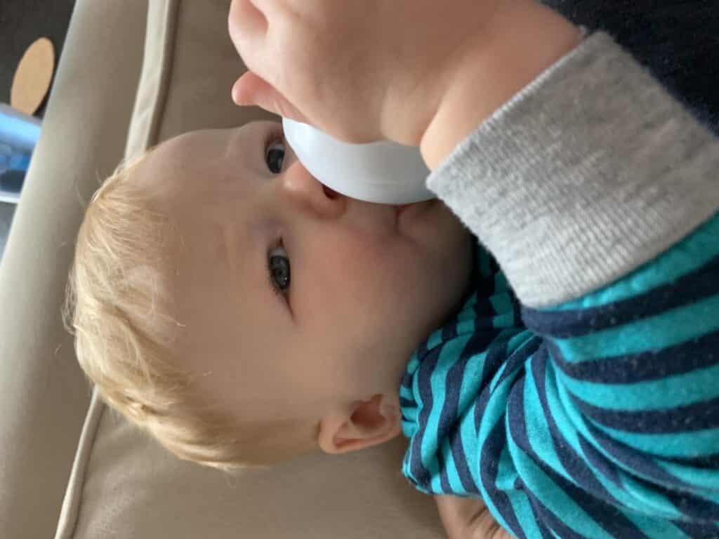 Bottles of pumped breastmilk is still breastfeeding