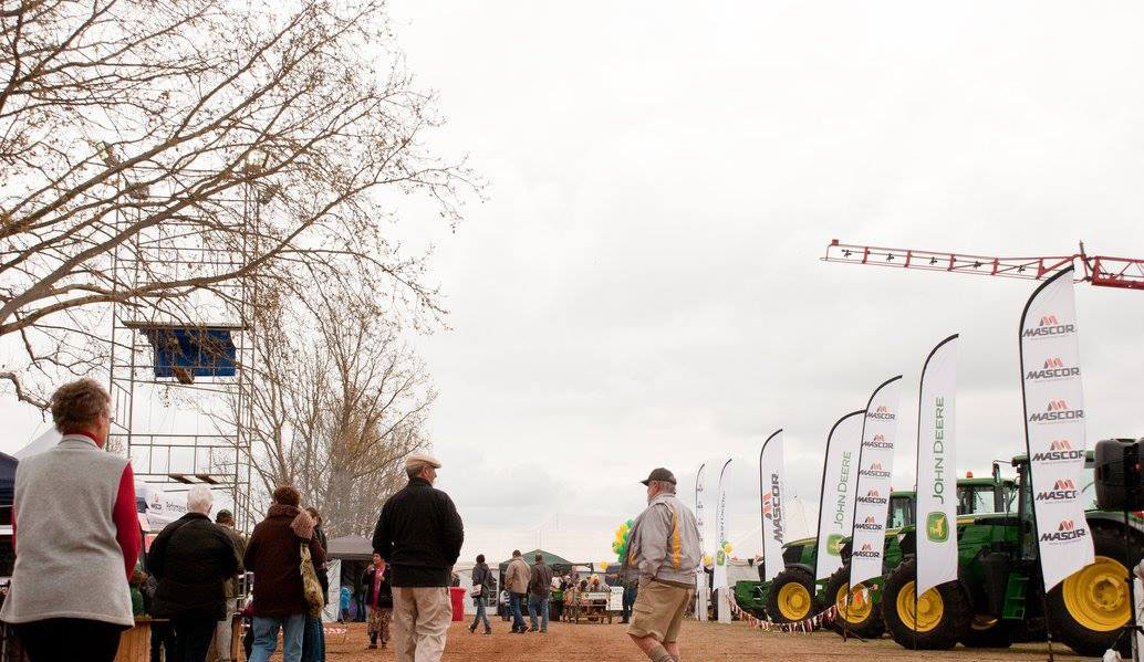 The Berg Show agricultural display