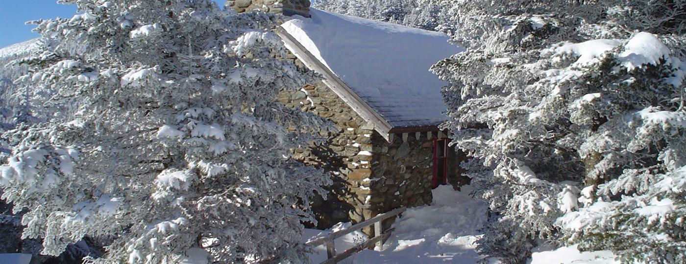 Stone Hut on Mt. Mansfield