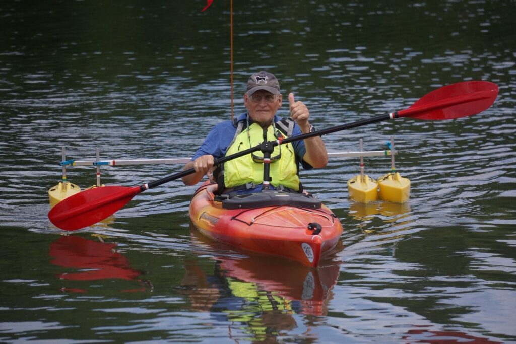 Adaptive Kayaking with Northeast Disabled Athletic Association
