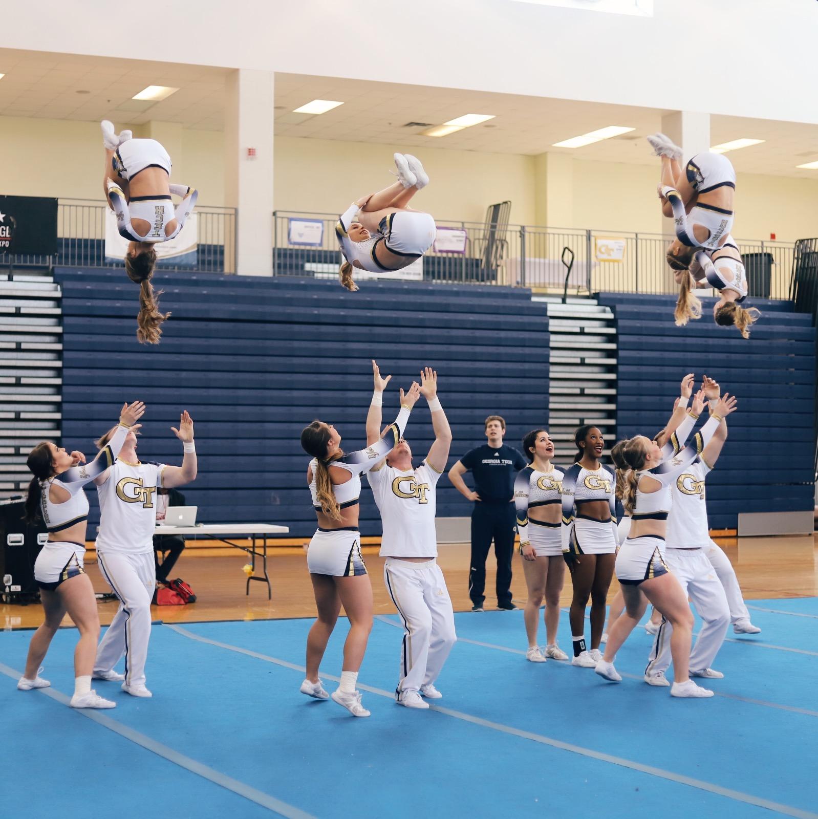 GA Tech Cheerleading at CenterStage