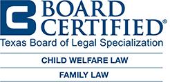Board Certified Legal Specialization - Child welfare law, Family law