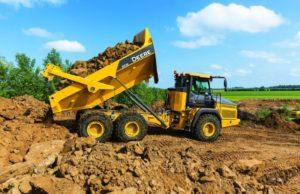 John Deere 310E Articulated Dump Truck price
