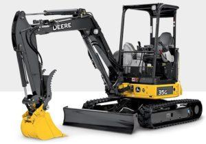 John Deere 35G Compact Excavator