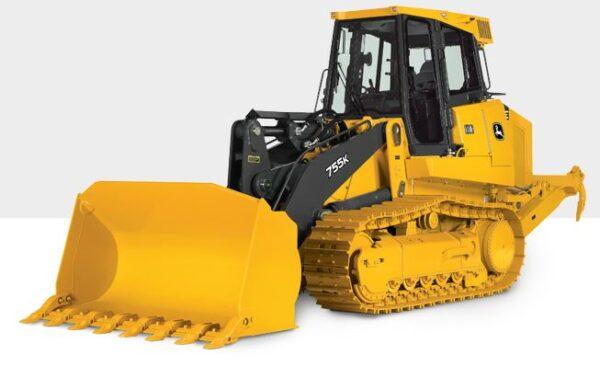 John Deere 755K Crawler Loader Construction Equipment
