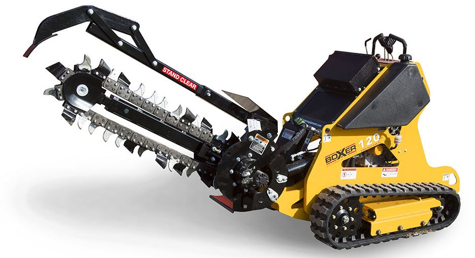 Boxer 120 Dedicated Trencher Overview