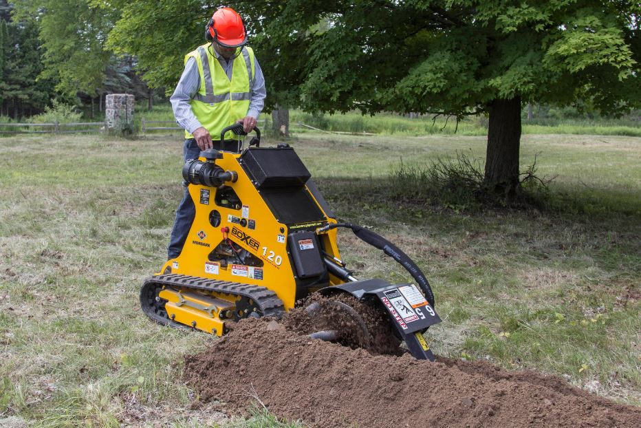 Boxer 120 Trencher Specifications