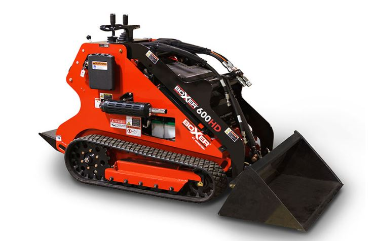 Boxer 600HD Mini Skid-Steer Overview
