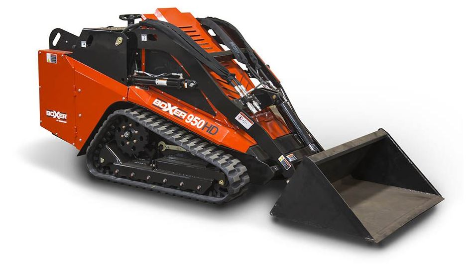 Boxer 950HD Mini Skid-Steer Overview